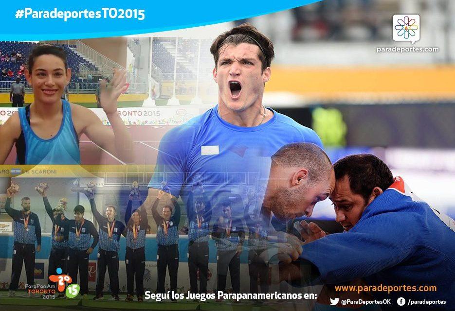 Día 7 / Argentina sumó doce medallas y este sábado cerrará su participación en los Parapanamericanos