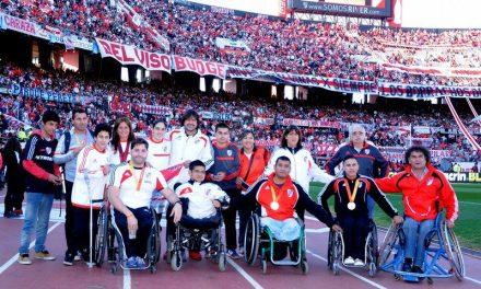 River reconoció a sus atletas parapanamericanos