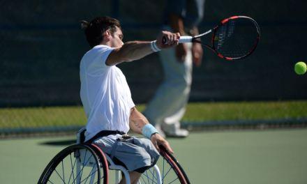 Tenis adaptado: Fernández, primero del grupo en el Master de dobles