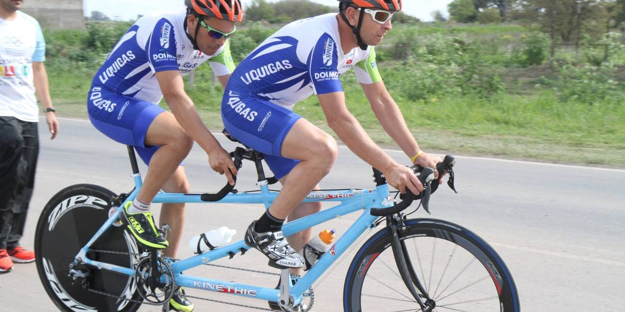 Ciclismo Adaptado: triunfos de Delgado y Romero-Villalba en Venado Tuerto