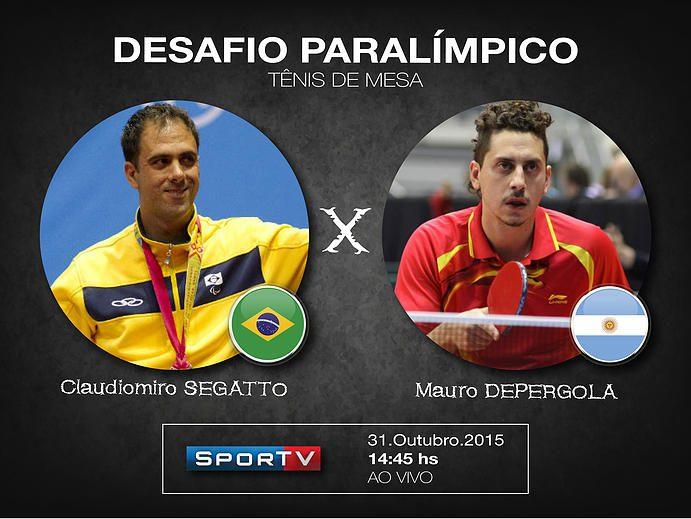 Tenis de mesa: Mauro Depergola y un desafío de lujo en Brasil