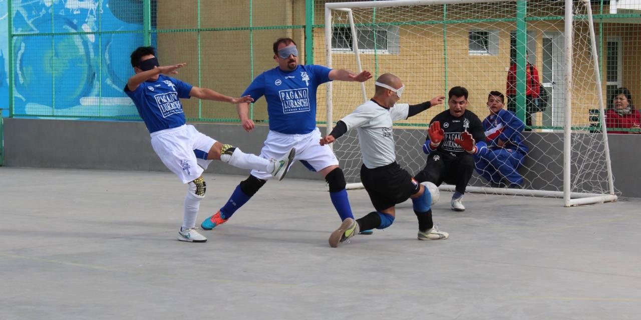 Fútbol para ciegos: Medea fue una máquina de hacer goles