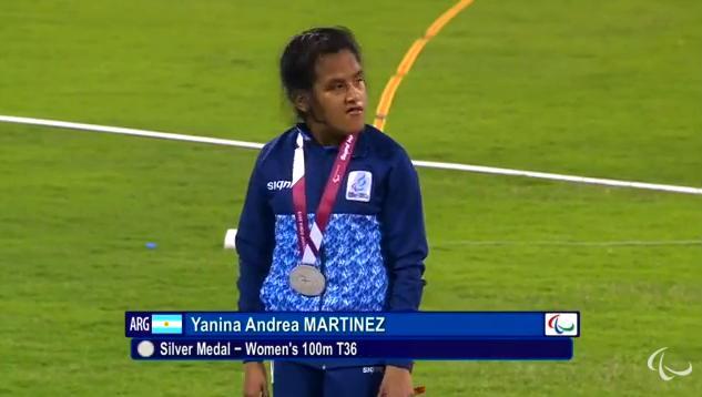 Atletismo adaptado: Yanina Martínez hace historia en Qatar