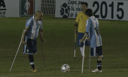 Fútbol para amputados: Argentina, subcampeón de América