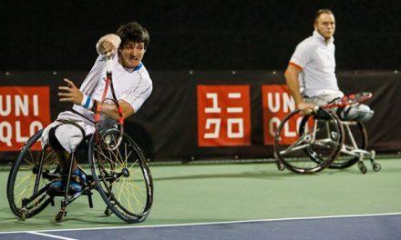 Tenis adaptado: Fernández, cuarto puesto en el Masters de dobles