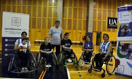 El cierre de la Academia Paralímpica fue a puro básquet