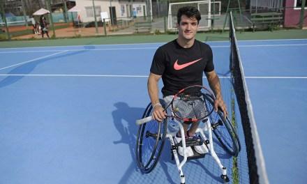 Tenis adaptado: Fernández se despidió de Nottingham