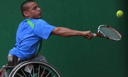 Tenis adaptado: Casco, eliminado en el dobles de Ecuador