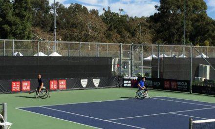 Tenis adaptado: Fernández, en semifinales del Masters de dobles