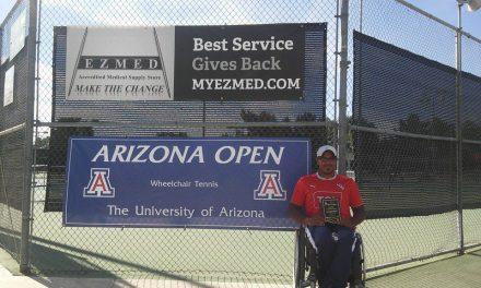 Tenis adaptado: Ledesma no pudo en la final de Indian Wells