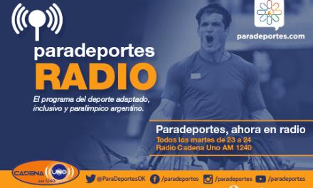 ¡El martes 1º de marzo empieza Paradeportes Radio!