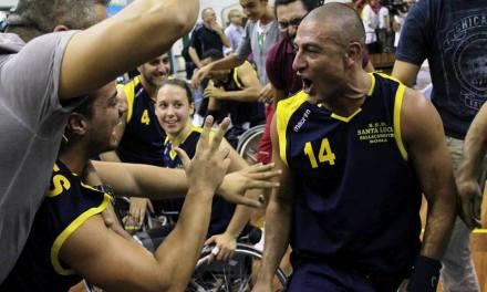 Básquet adaptado: Berdún, líder en la Liga de Italia