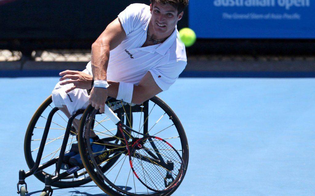 Tenis adaptado: Fernández, en cuartos de final de Pensacola