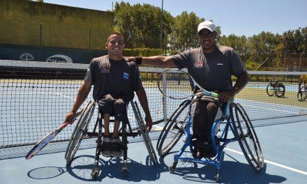 Tenis adaptado: Casco y Ledesma avanzan en Polonia