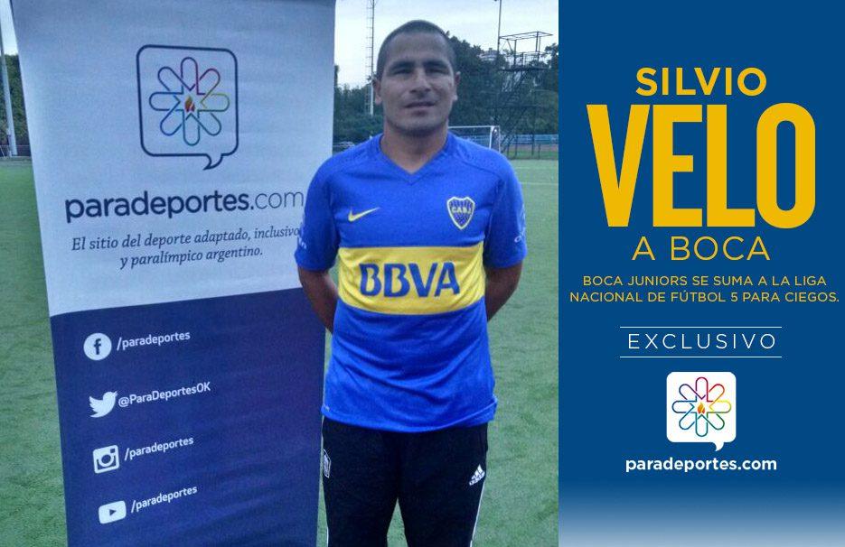 """Velo: """"Voy a cumplir mi sueño de jugar en Boca"""""""