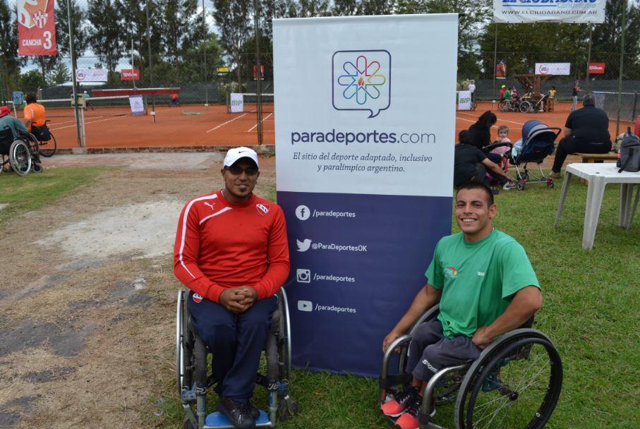 Tenis adaptado: Casco y Ledesma, campeones del dobles en Chile