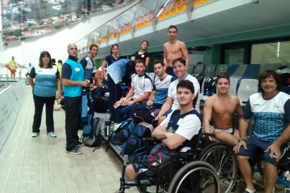 Natación adaptada: Argentina se prepara en Portugal