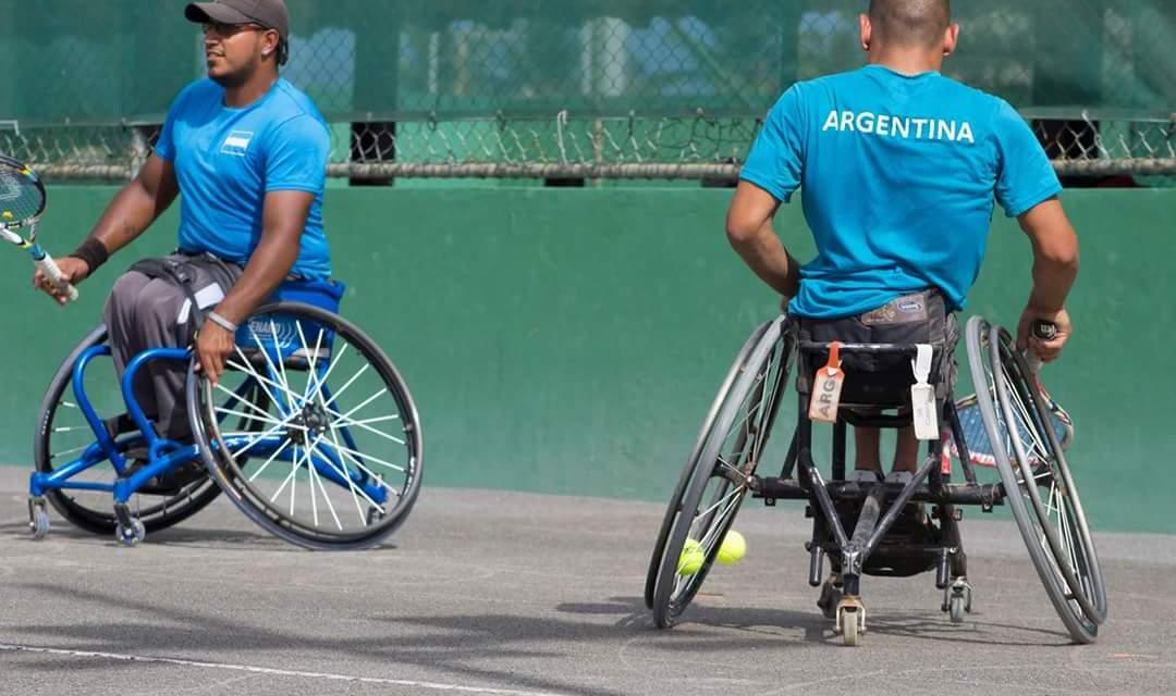 Tenis adaptado: Argentina, séptima en la Copa del Mundo