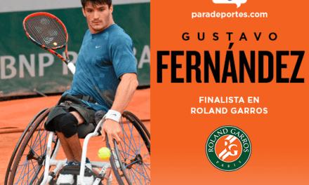 """Histórico – Tenis adaptado: Gustavo Fernández, finalista de Roland Garros. """"Voy por el título"""""""