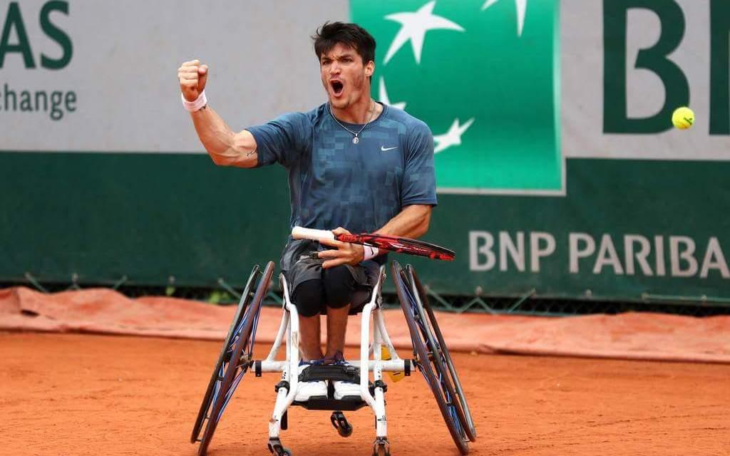 Histórico – Tenis adaptado: ¡Gustavo Fernández, campeón de Roland Garros!