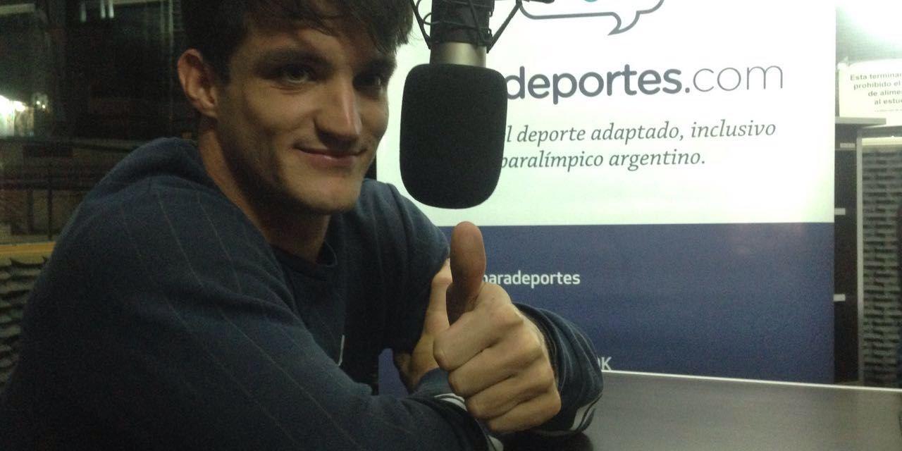 """Gustavo Fernández: """"A los Juegos Paralímpicos llego más maduro y con chances de pelear una medalla"""""""