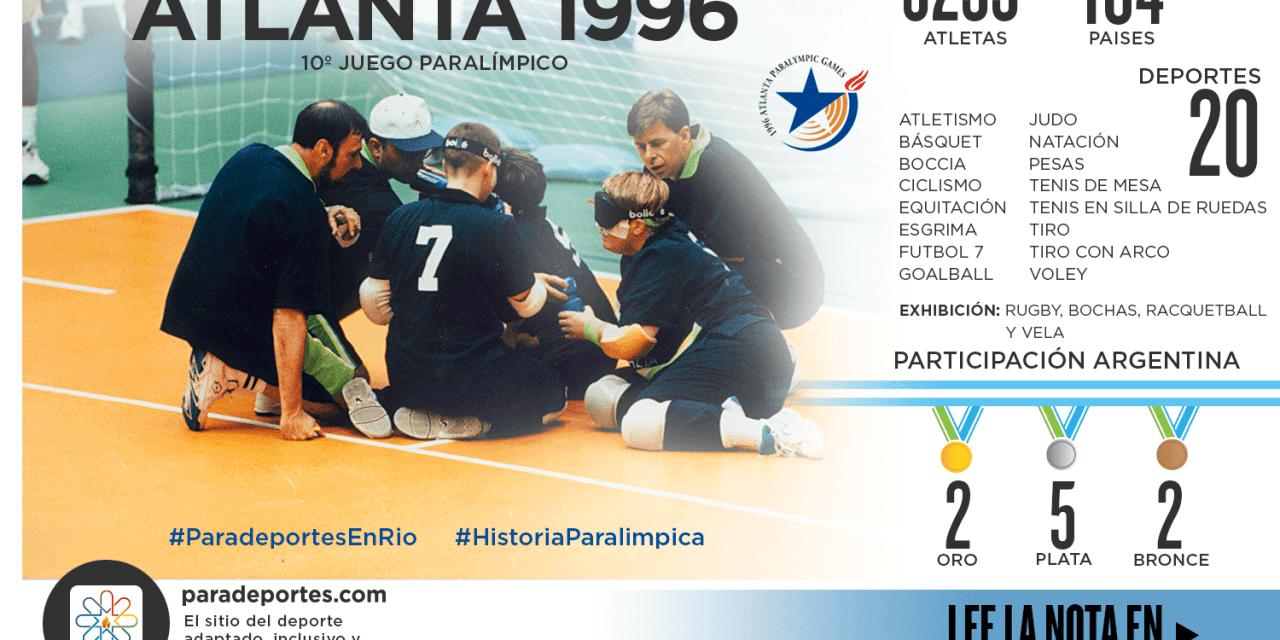 ATLANTA 1996: LAS ÚLTIMAS MEDALLAS DORADAS ARGENTINAS