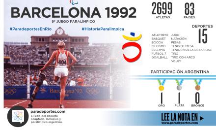 BARCELONA 1992: BASCIONI, EL DESTACADO ARGENTINO