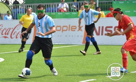 Fútbol para ciegos: Los Murciélagos, finalistas en Madrid