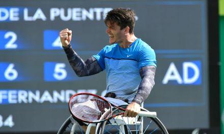 Tenis adaptado: Gustavo Fernández subió al cuarto puesto del ranking mundial