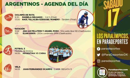 Juegos Paralímpicos Río 2016 – La agenda del sábado 17