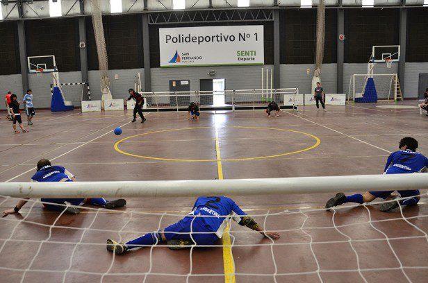 Goalball: APANOVI alcanzó la punta
