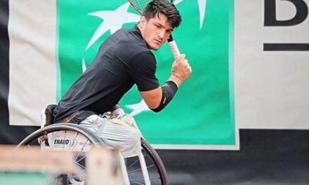 Tenis adaptado: Gustavo Fernández volvió al circuito con un triunfo en Francia
