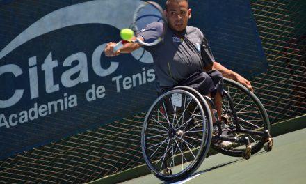 Tenis adaptado: Casco y Palacio, semifinalistas en Chile; Moreno y Pralong, final argentina