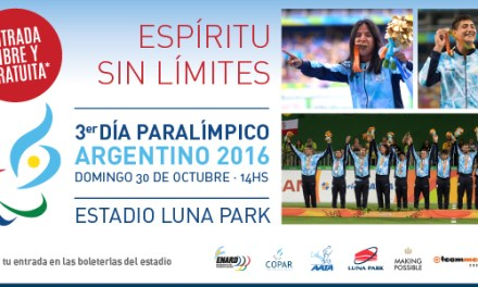 Los medallistas Silvio Velo, Hernán Barreto y Nadia Baez estarán mañana miércoles a las 12:30 en la conferencia de prensa del 3er. Día Paralímpico en el Luna Park