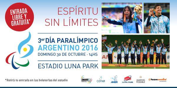 Yanina Martínez, medalla dorada en los Juegos de Río, estará en el3er. Día Paralímpico el domingo a las 14 en el Luna Park
