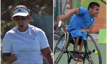 Tenis adaptado: Casco y Moreno, campeones en Chile
