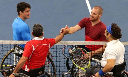 Tenis adaptado: triunfo de Fernández en el dobles de Bath