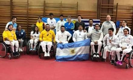 Esgrima: catorce medallas en la Copa Amistad
