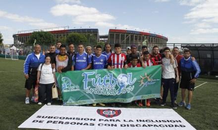 La Liga de Fútbol Inclusiva tuvo las finales en San Lorenzo