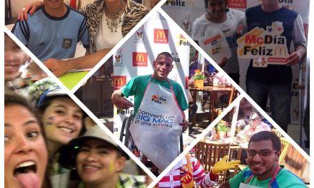 Los atletas paralímpicos fueron parte del Mc Día Feliz