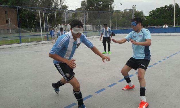 Fútbol para ciegos: La Selección Sub 20 finalizó en el segundo lugar de la Copa Desafío