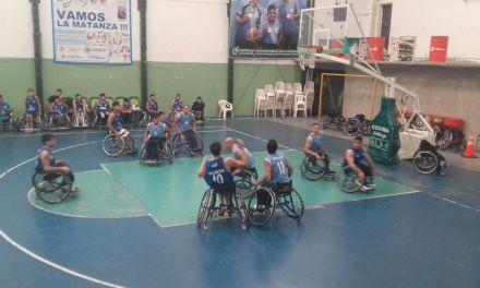 Básquet adaptado: Finalizó la serie entre Argentina y Uruguay