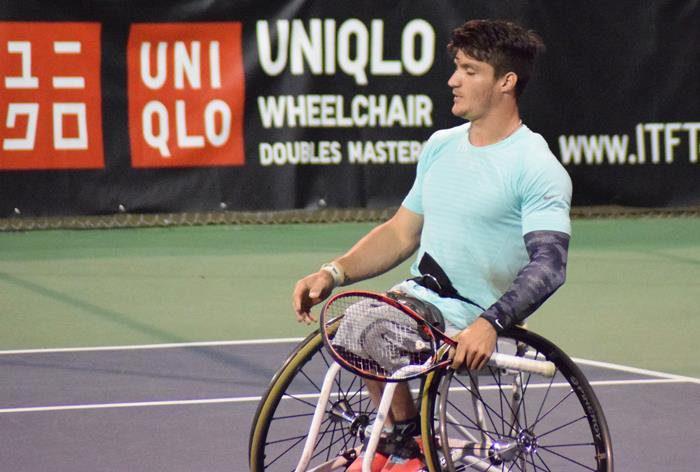 Tenis adaptado: Gustavo Fernández, finalista en el Master de dobles