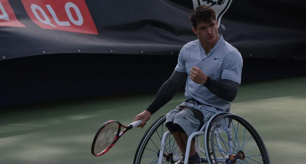 Tenis adaptado: debut con triunfo para Fernández en el Master de dobles