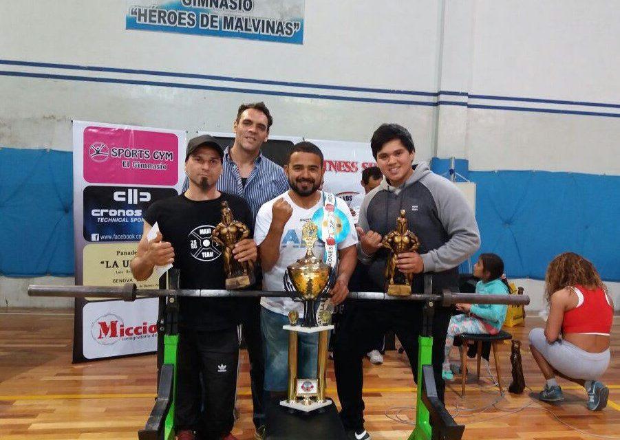 Levantamiento de pesas: La Batalla de los Campeones, con el sello paralímpico