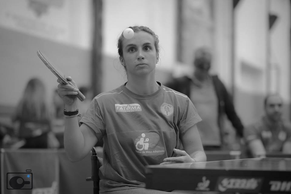 Brenda Sardón, del paracanotaje al tenis de mesa adaptado