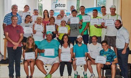 Tenis para ciegos: se recibieron los primeros 18 instructores