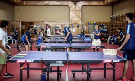 Tenis de mesa: campamento de desarrollo Sub 20