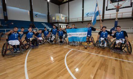 Básquet adaptado: Argentina, tercer puesto en el Campeonato de las Américas Sub 23