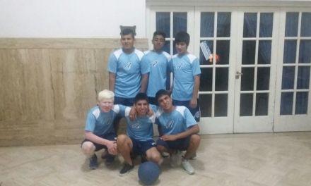 Goalball: la Selección juvenil pasó por Salta